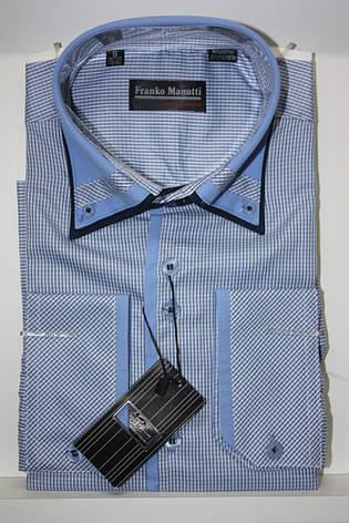 Мужская рубашка в клетку Franko Manutti, фото 2