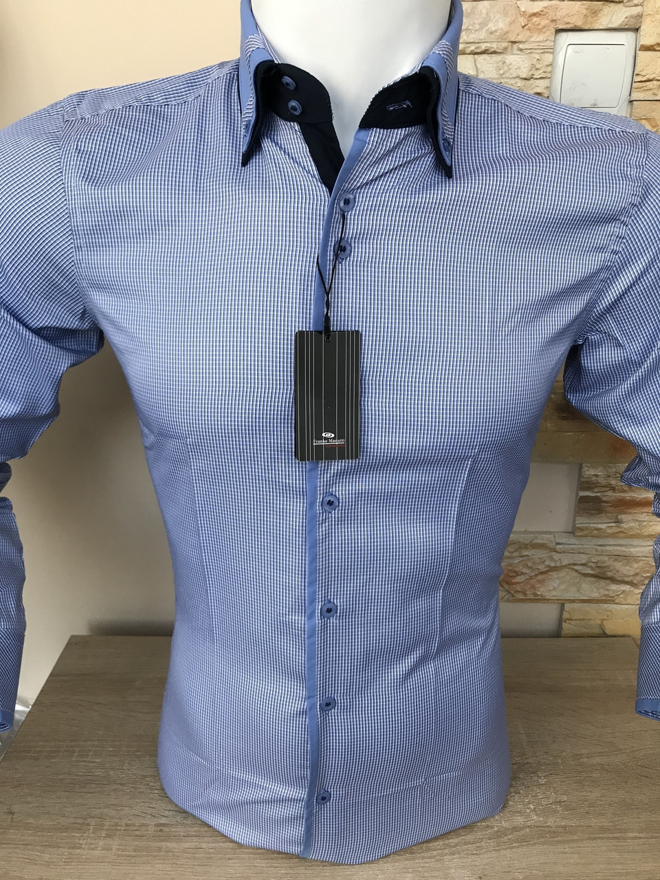 Мужская рубашка в клетку Franko Manutti
