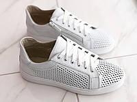 Шкіряні кросівки для дівчаток Jordan 7062 бел розміри 32-39