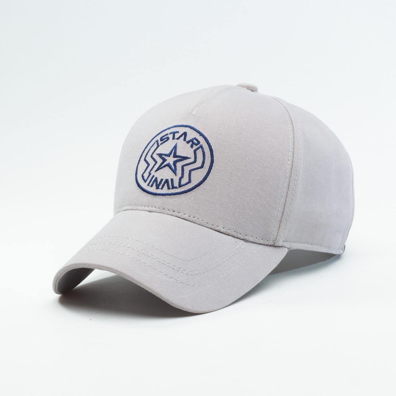 Детская кепка бейсболка INAL star XS / 51-52 RU Серый 239551