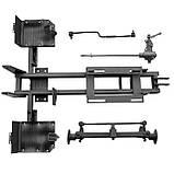 Комплект для переоборудования мотоблока в мототрактор №3 (мех. тормоз. система) (4 болта), фото 5