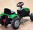 Детский педальный трактор с прицепом Пилсан Active Traktor Велотрактор веломобиль, фото 6