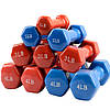 Гантели для фитнеса с виниловым покрытием (2x 2.72 кг) пара 6LB, фото 4