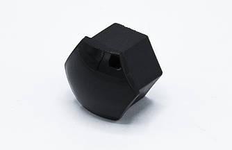 Колпачки (накладки) на колесные болты 17мм чёрные (20шт + съемник)