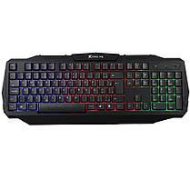 Игровая проводная Клавиатура XTRIKE ME Gaming KB 302 Black с подсветкой