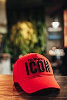 Кепка ICON  x red | бейсболка мужская женская ЛЮКС