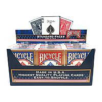 Блок покерных карт Bicycle Standard (12 колод)