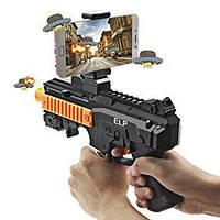 Игровой автомат виртуальной реальности Smart AR Game Gun с bluetooth, IOS и Android, черный