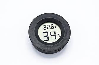 Автомобильный цифровой термометр + гигрометр (ЖК LCD)