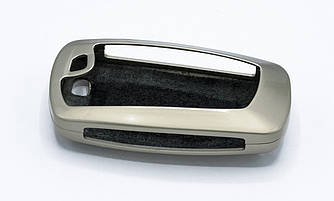 """Оригинальный алюминевый чехол футляр для ключей BMW """"STYLEBO YS0004"""" цвет Жемчужный Никель"""