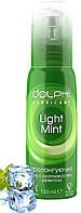 Гель-смазка Dolphi LONG LOVE Light Mint для продления удовольствия. 100 мл