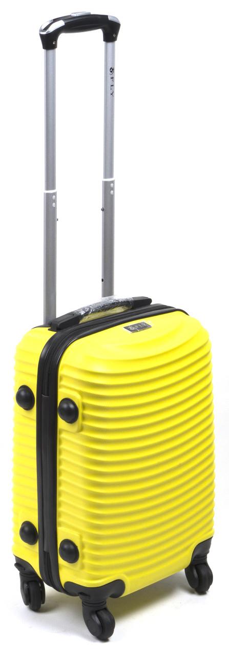 Об'ємний дорожній каркасний валізу з міцного пластику WINGS art. 1107-4