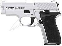 Пистолет стартовый Retay Baron HK, Цвет - nickel, фото 1