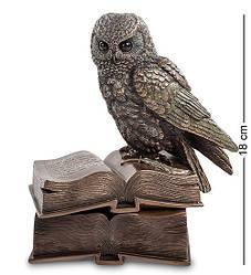 Шкатулка Veronese Сова на книгах 18 см 1901902