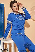 Женский спортивный костюм черный 46-48,50-52,52-54, фото 1