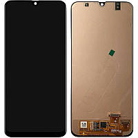 LCD Samsung A307F/A30S-2019 + touch Black (OEM)