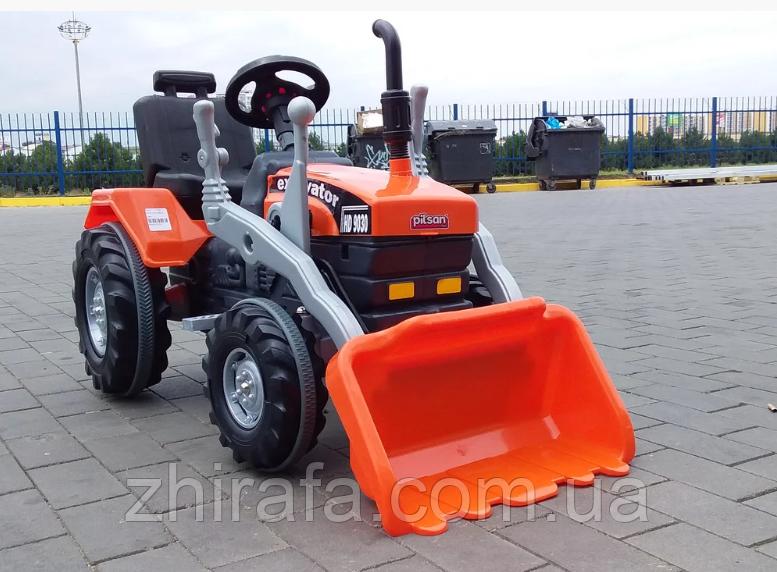 Педальний трактор, екскаватор з ковшем Active Traktor Велотрактор