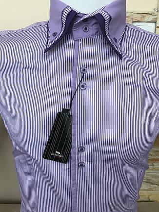 Чоловіча сорочка в смужку Franko Manutti, фото 2