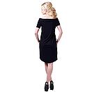 Платье летние женское, черное 42 и 44 размер, фото 2