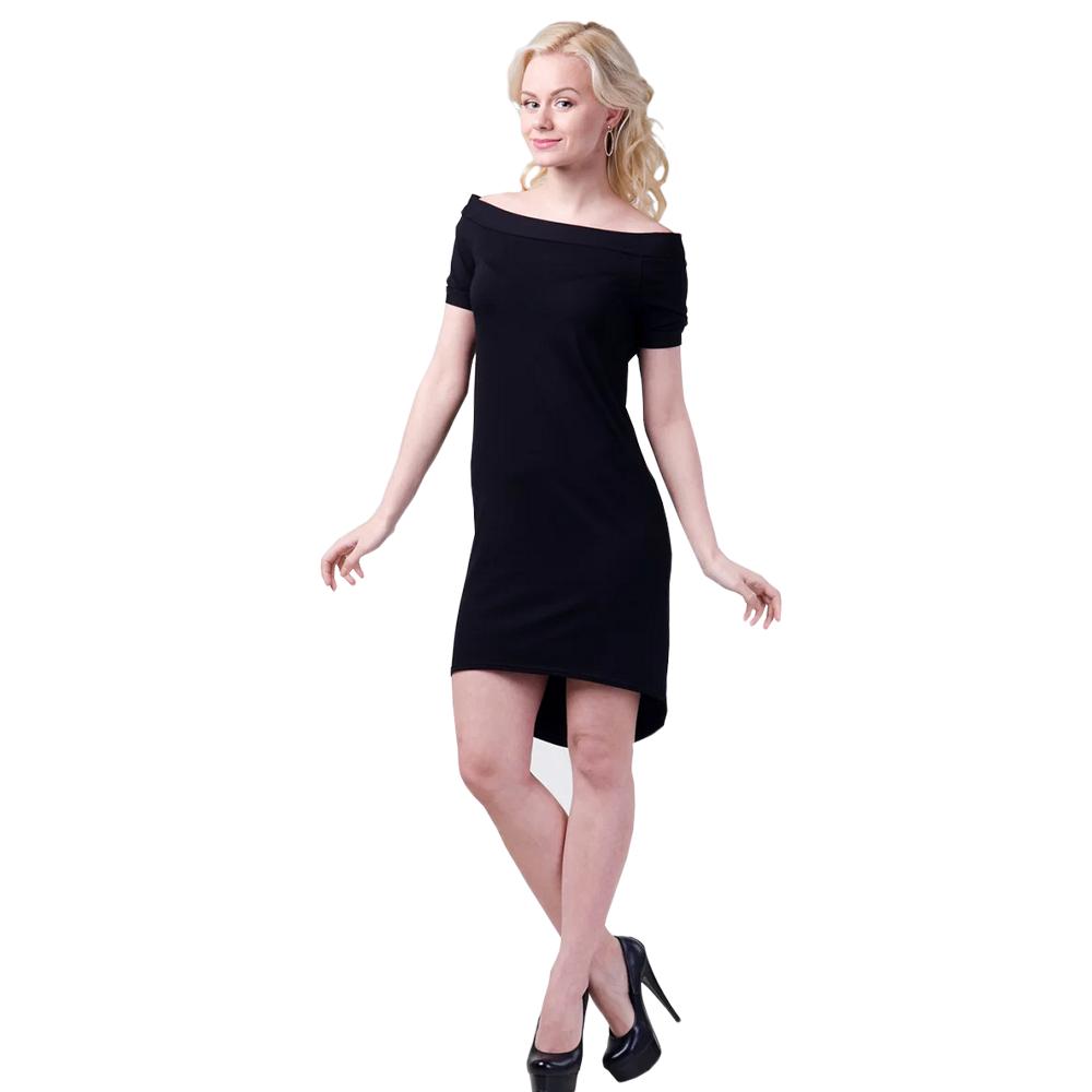 Платье летние женское, черное 42 и 44 размер