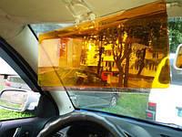 Антибликовый солнцезащитный козырек для автомобиля HD Vision Visor Clear View, козырек для машин