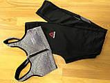 Женский спортивный комплект топ и лосины Reebok Рибок (M,L), фото 3