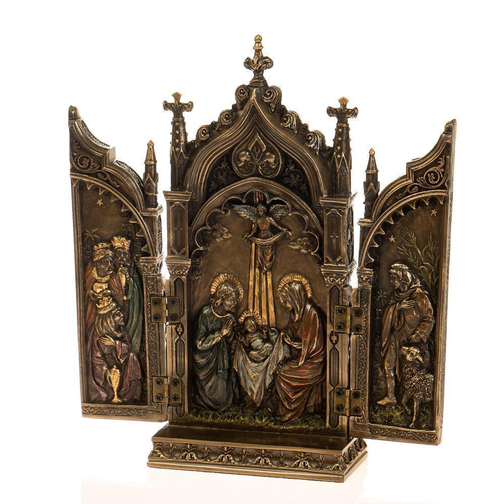 Статуэтка Икона 2х створчатая, складень Veronese 22х11 см 76727