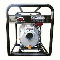 Мотопомпа дизельная VULKAN SCWPD80 (48 м³/час, 80 мм, 178F/6 л.с)