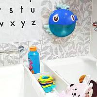 Игрушка для купания в ванной музыкальный Кит Bubble whale