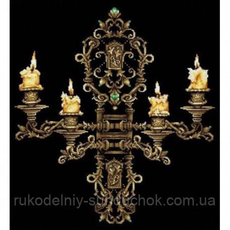Набор для вышивки крестом Сделай Своими Руками Вечер при свечах В-28