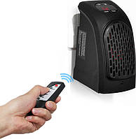 Универсальный обогреватель для дома Rovus Handy Heater черный, с пультом, 350W, два режима, от 15 до 32°C, автоматическое, обогреватель
