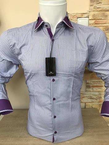 Сорочка в смужку Franko Manutti, фото 2