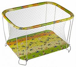 Классический детский игровой манеж Крупная и Мелкая сетка спанчбоб