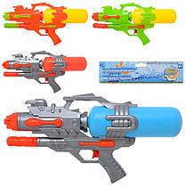 """Водяний пістолет автомат помпа 46 см """"Water Gun"""" великий з накачуванням, водне зброя дитяче, 5817"""