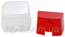 Запасное стекло Aspock Squarepoint Rot/Weiss Cover Lens 10029 для фонарей 10028 и 10030