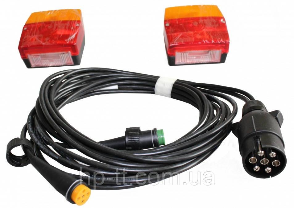 Комплект задних фонарей Aspock с проводкой и вилкой 10369