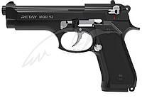 Пистолет стартовый Retay Mod.92. Цвет - black/nickel., фото 1