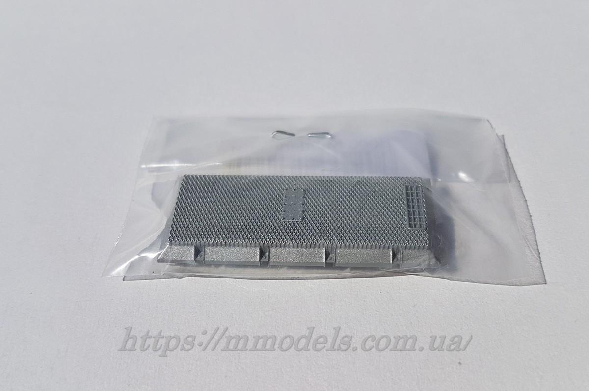 Roco 116113 запасная часть для моделей - глушитель тепловоза Roco М62, 2М62 СЖД ,масштаба 1/87,H0