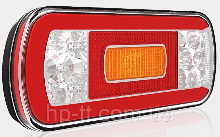 Фонарь задний Fristom FT-130 NT PM LED 5 функций