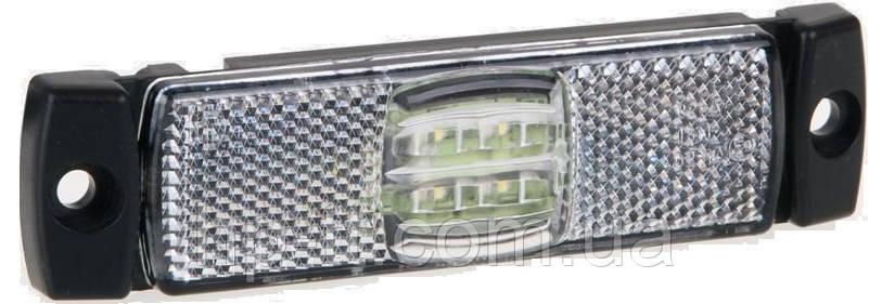 Фонарь габаритный Fristom FT-017 B LED белый с проводом