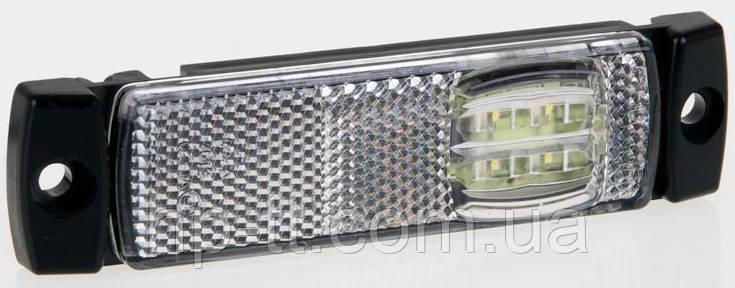 Фонарь габаритный белый Fristom FT-018 B LED с проводом