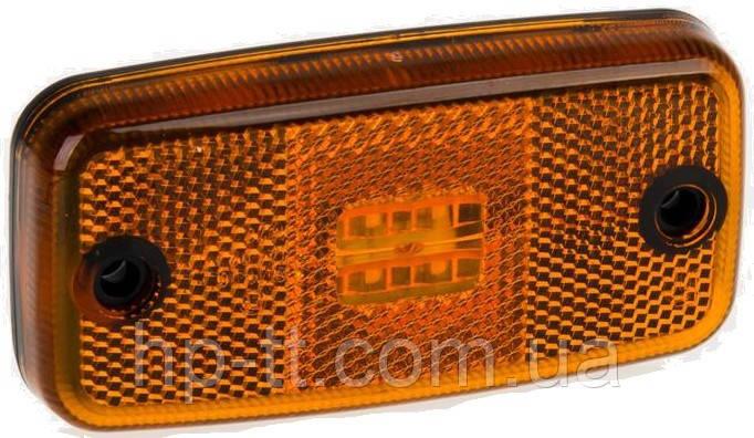 Фонарь габаритный Fristom FT-019 Z LED желтый с проводом
