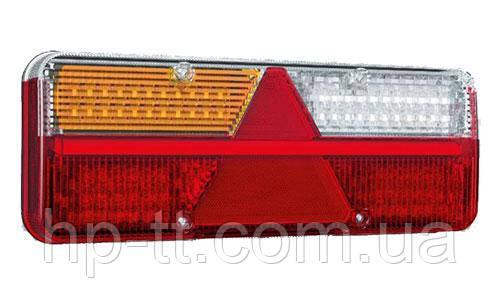 Фонарь задний Fristom KINGPOINT LED 12-36В, 6-функциональный FT-500-15 LED
