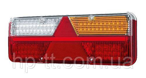 Фонарь задний Fristom KINGPOINT LED 12-36В, 6-функциональный FT-500-25 LED