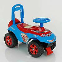 Детская каталка толокар Автошка, для детей от 2 лет, спортивные наклейки