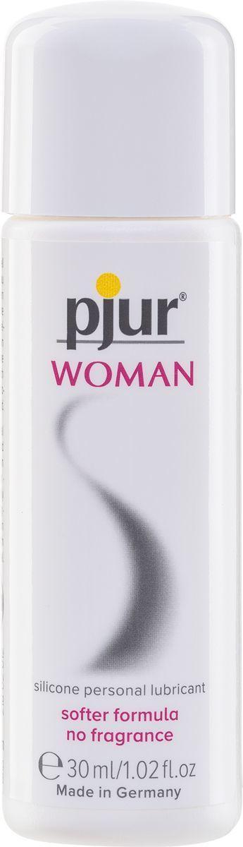 Смазка на силиконовой основе pjur Woman 30 мл, без ароматизаторов и консервантов специально для нее