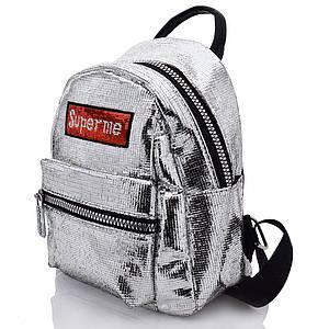 Рюкзак Lei серебряный 683