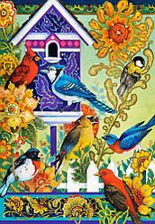 Пазлы Castorland 1000 элементов, 68х47 см, в коробке, Обратная связь, птицы (животные)