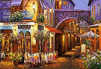 Пазлы Castorland 1000 элементов, 68х47 см, в коробке, Вечер в Провансе (города, картины)