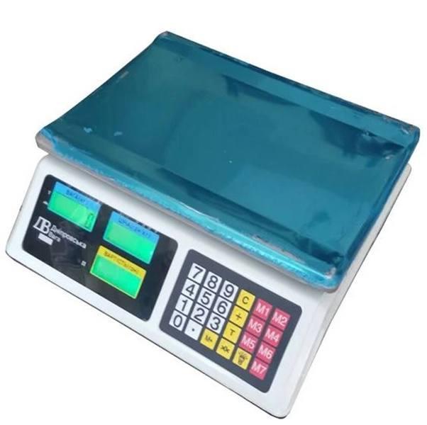 Весы торговые электронные ВТЕ-Центровес-6Т1ДВ-Э (6 кг)